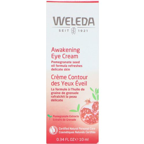 Weleda, Awakening Eye Cream, All Skin Types, 0.34 fl oz (10 ml) Review