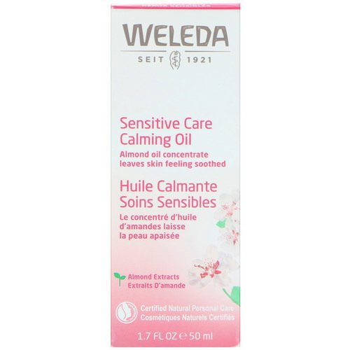 Weleda, Sensitive Care Calming Oil, Almond Extracts, Sensitive Skin, 1.7 fl oz (50 ml) Review