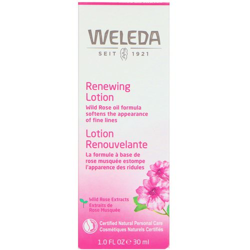 Weleda, Wild Rose, Smoothing Facial Lotion, 1.0 fl oz (30 ml) Review