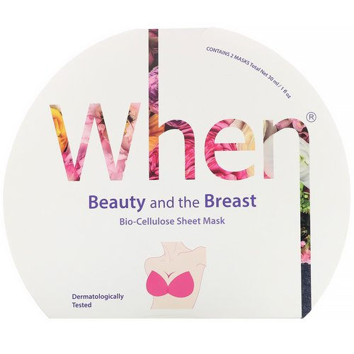 When Beauty, Beauty and the Breast, Bio-Cellulose Sheet Mask, 2 Masks, 0.5 fl oz (15 ml) Each Review