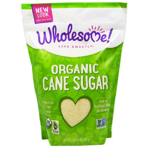 Wholesome, Organic Cane Sugar, 32 oz (907 g) Review