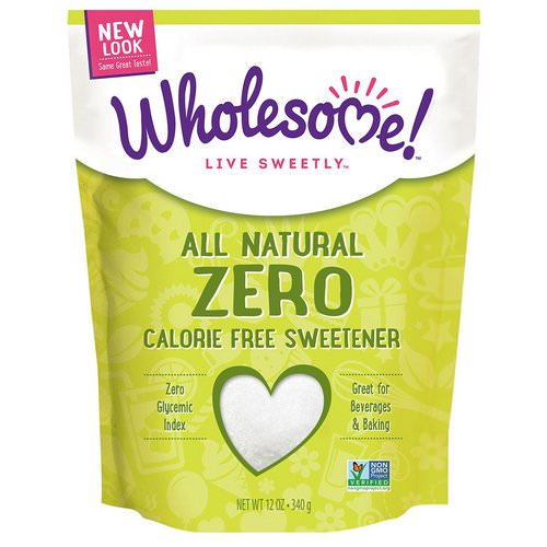 Wholesome, All Natural Zero Calorie Free Sweetener, 12 oz (340 g) Review
