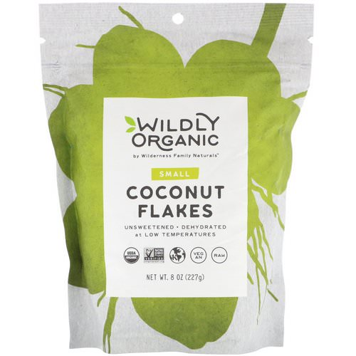 Wildly Organic, Coconut Flakes, Small, 8 oz (227 g) Review