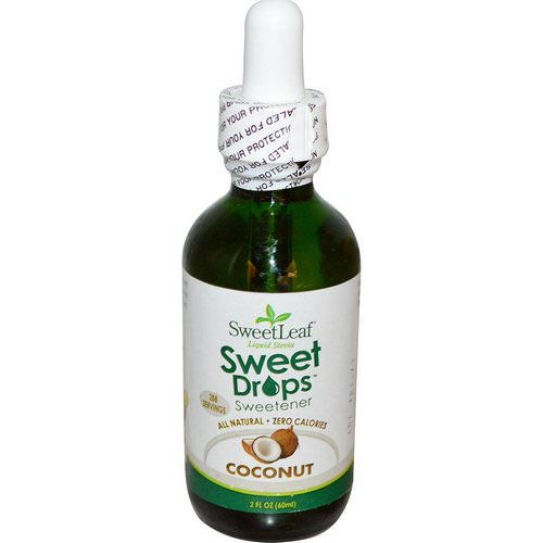 Wisdom Natural, SweetLeaf Liquid Stevia, Sweet Drops Sweetener, Coconut, 2 fl oz (60 ml) Review