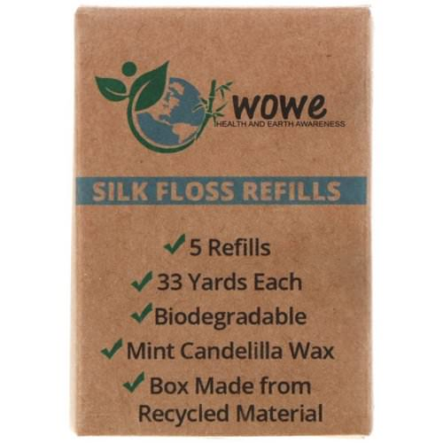 Wowe, Silk Floss Refills, 5 Refills Review