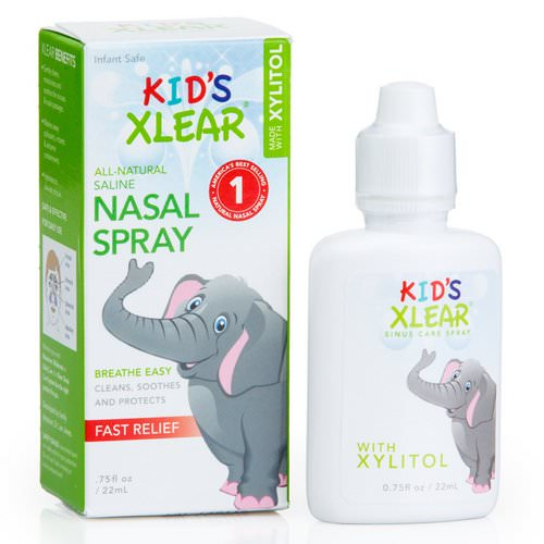 Xlear, Kid's Xlear, Saline Nasal Spray, .75 fl oz (22 ml) Review
