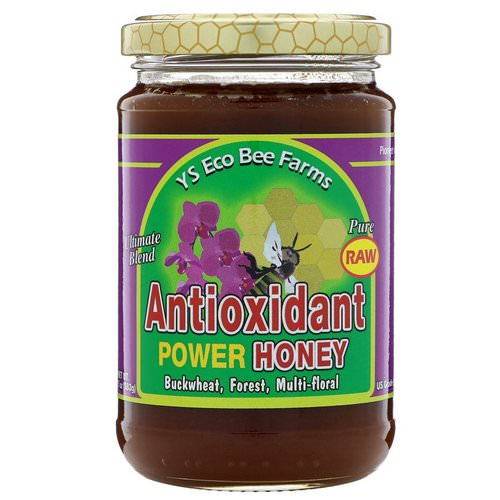 Y.S. Eco Bee Farms, Antioxidant Power Honey, 13.5 oz (383 g) Review