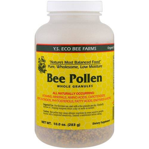 Y.S. Eco Bee Farms, Bee Pollen Whole Granules, 10.0 oz (283 g) Review