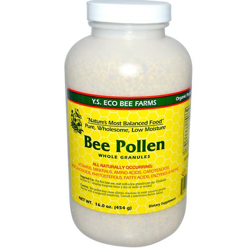 Y.S. Eco Bee Farms, Bee Pollen, Whole Granules, 16.0 oz (453 g) Review