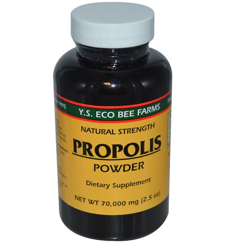 Y.S. Eco Bee Farms, Propolis Powder, 2.5 oz (70,000 mg) Review