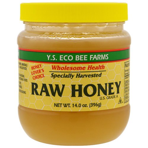 Y.S. Eco Bee Farms, Raw Honey, 14.0 oz (396 g) Review