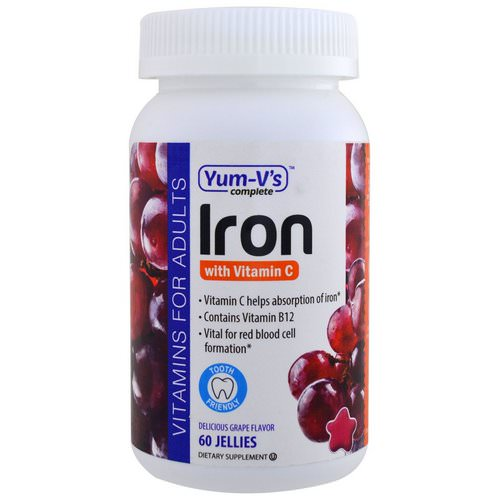 YumV's, Iron, with Vitamin C, Grape Flavor, 60 Jellies Review