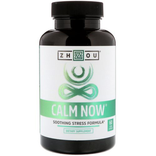 Zhou Nutrition, Calm Now, Soothing Stress Formula, 60 Veggie Capsules Review
