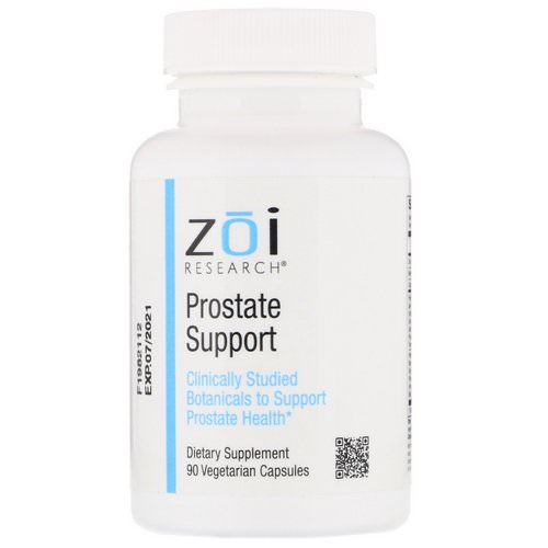 ZOI Research, Prostate Support, 90 Vegetarian Capsules Review