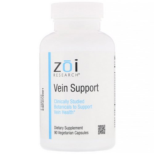 ZOI Research, Vein Support, 90 Vegetarian Capsules Review